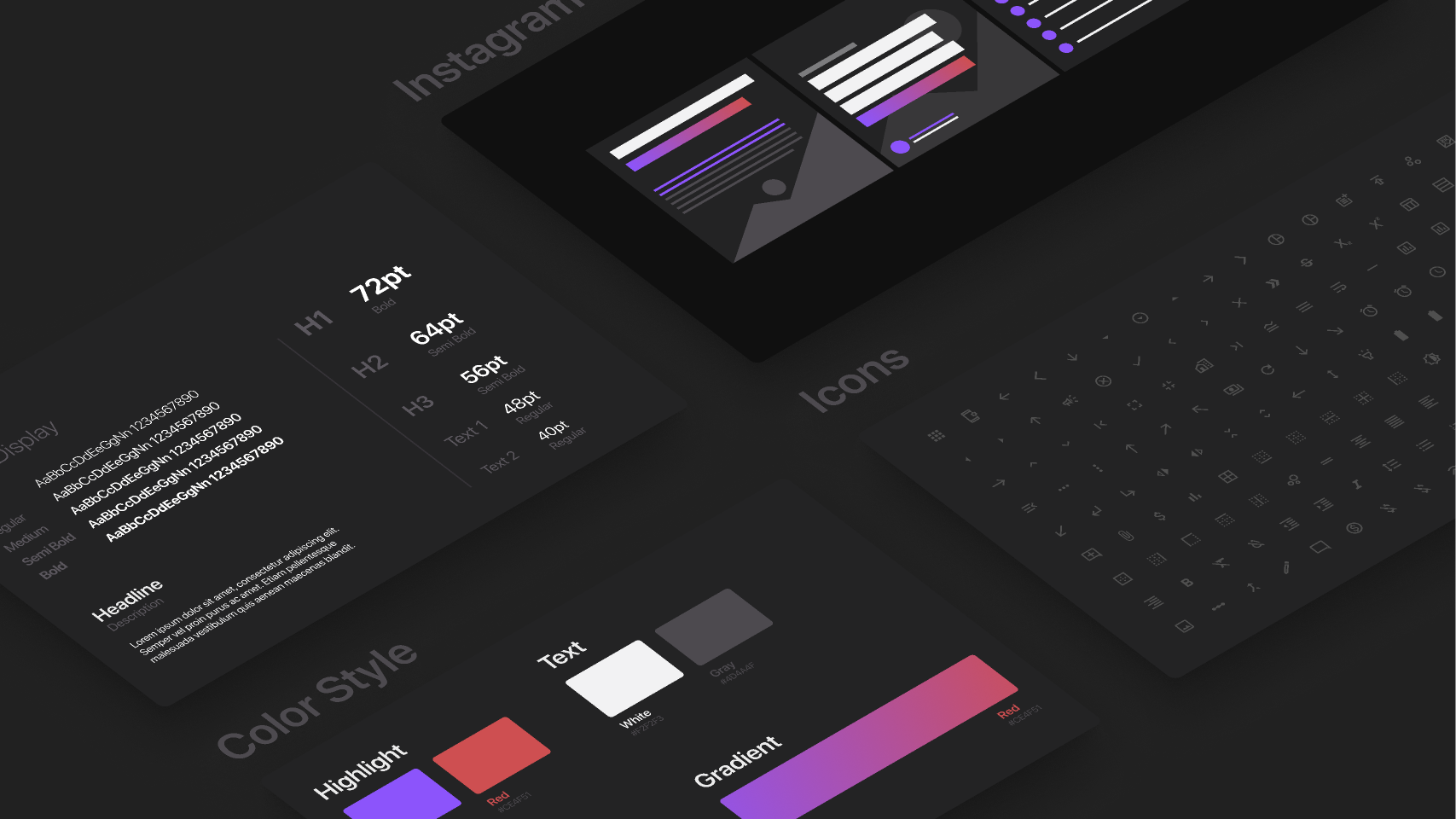 Design Style Guide - Template Figma