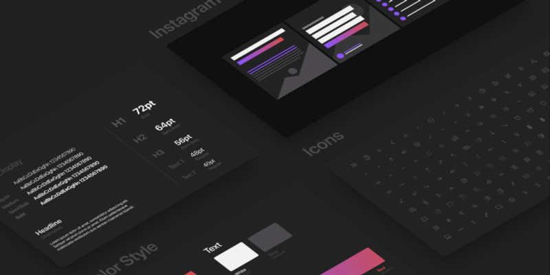 Design Style Guide - Template Figma