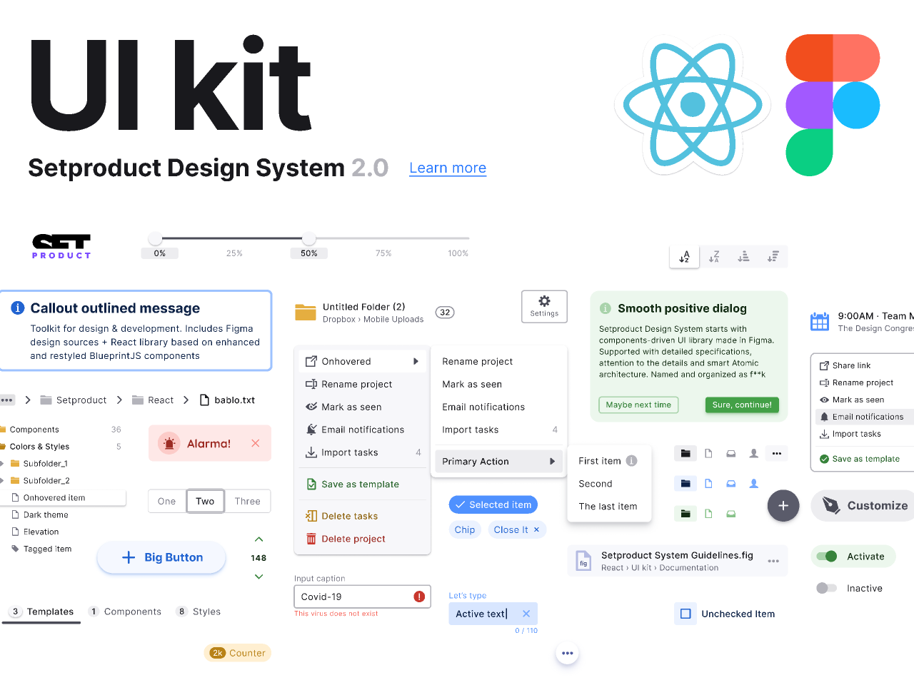 Design System 2.0 - UI kit