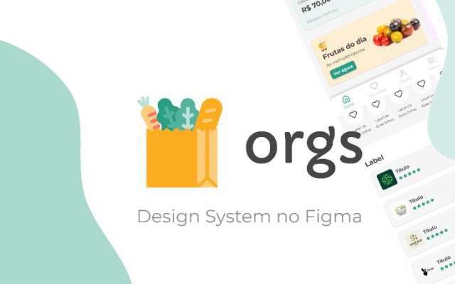 Design System no Figma template