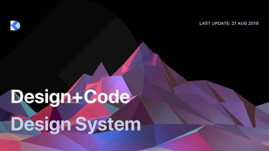 Design+Code Design System Figma Template