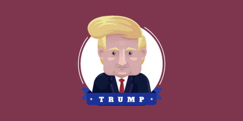 Donald Trump figma vector free