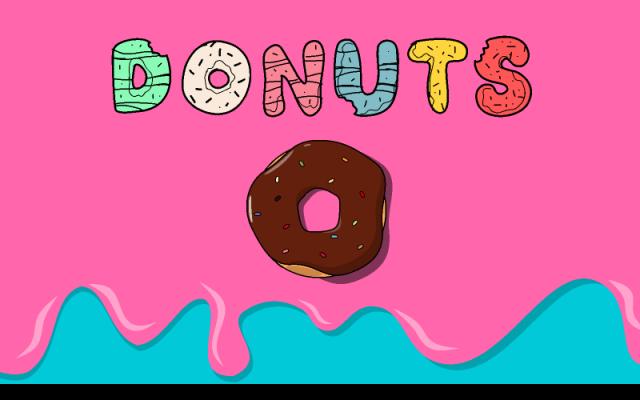 Donut Illustrations Figma