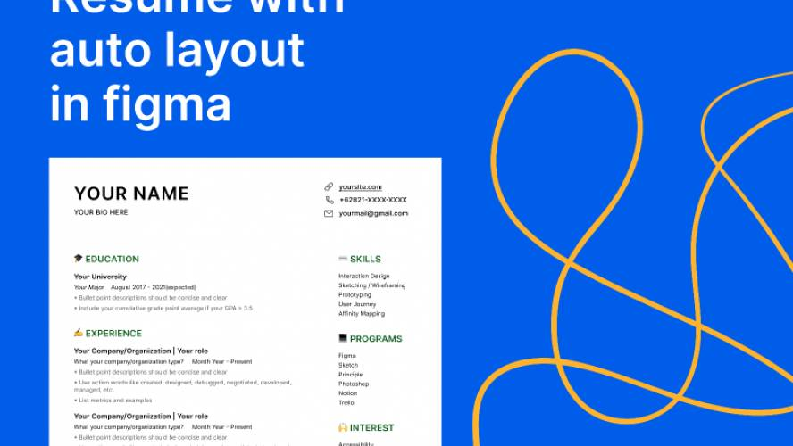Download Resume Template (Figma)