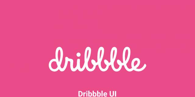 Dribbble Figma