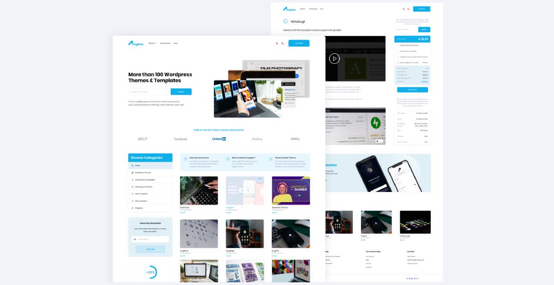 DugiLan | WooCommerce UI & UX figma free