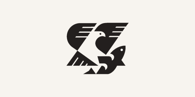 Eagle and fish