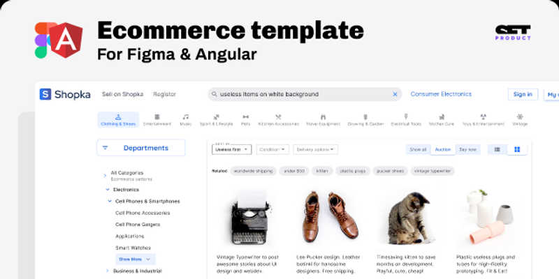 Ecommerce Shopping Template
