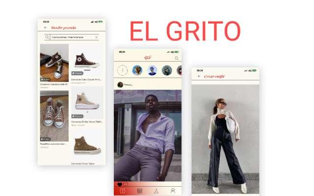 EL GRITO Figma app design
