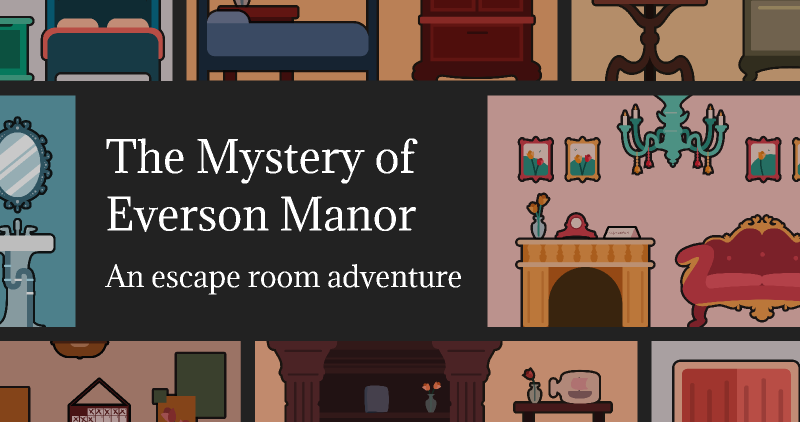 Escape Room: The Mystery of Everson Manor