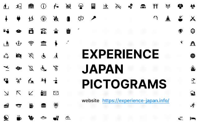 Experience Japan Pictograms figma