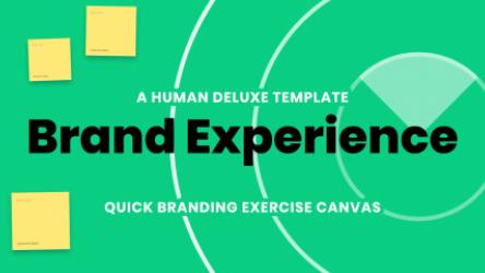 Figjam Brand Experience Canvas