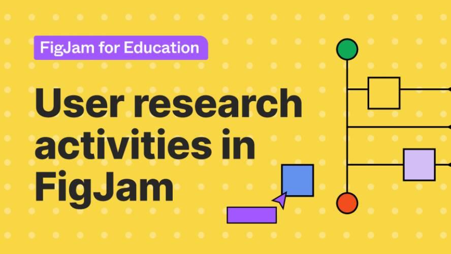 Figjam User research activities Free Download
