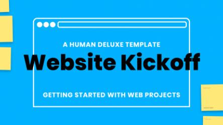 Figjam Website Kickoff by Human Deluxe