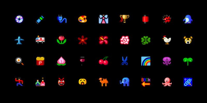 Figma 2003 KDDI Emojis