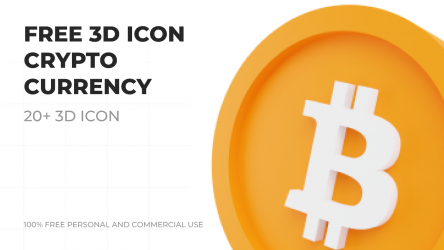Figma 3d Cryptocurrency Icon Free Download