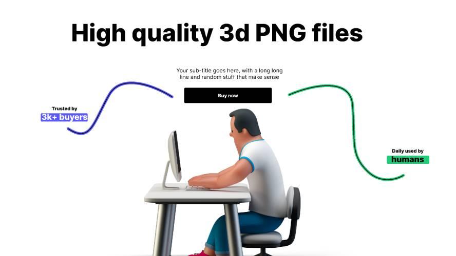 Figma 3d desk Free Download