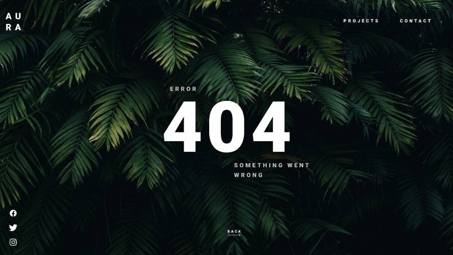 Figma 404 Page Template Free Download