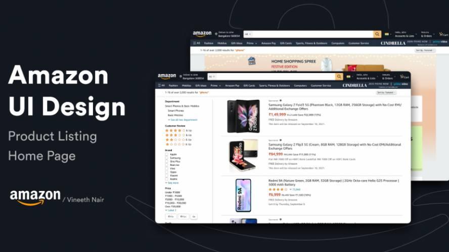 Figma Amazon Ui Template Free Download