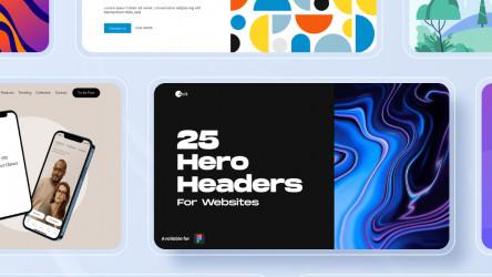 Figma Aolt Website Hero Headers (Download Free 25+ Templates)