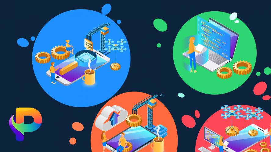 Figma App Development 3D Illustrations