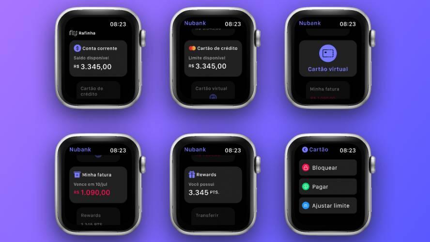 Figma Apple Watch Concept App