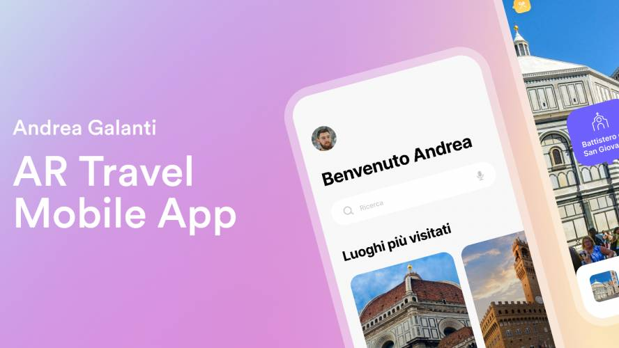 Figma AR Travel Mobile App