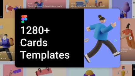 Figma Article Cards UI Kit