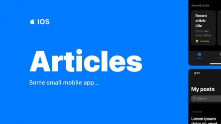 Figma Articles IOS App