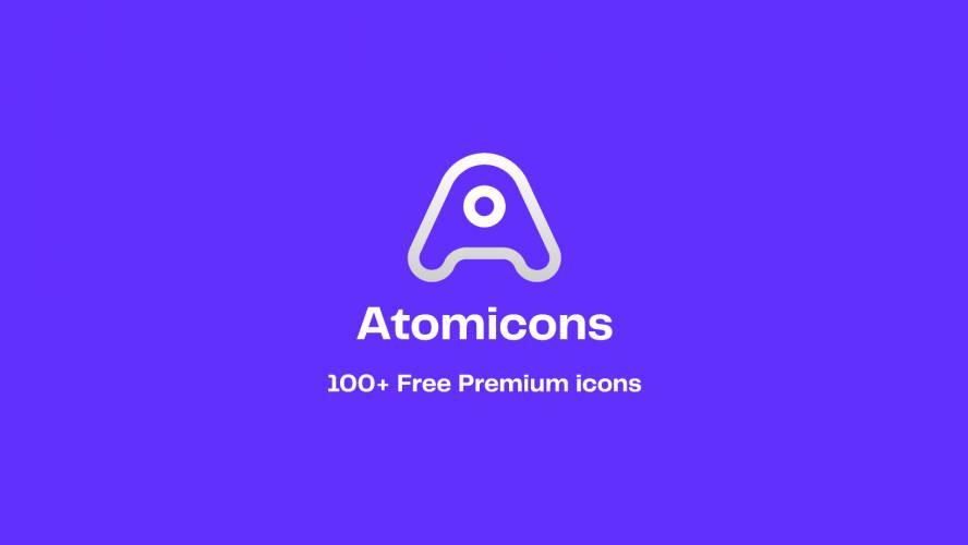 Figma Atomicons - 100+ Free Premium Icons