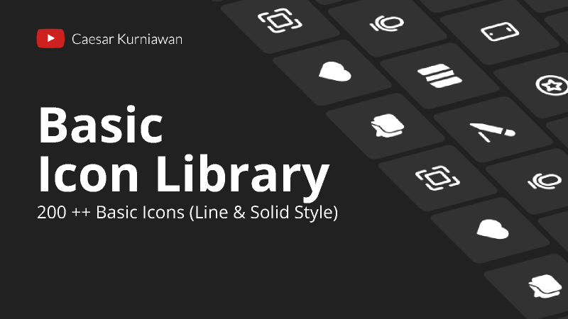 Figma Basic Icon Library