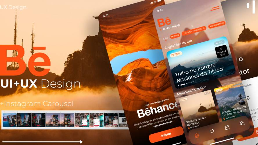 Figma Behance App Design