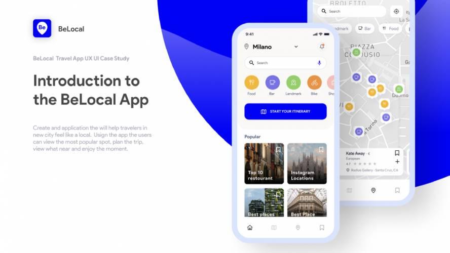 Figma BeLocal Travel App