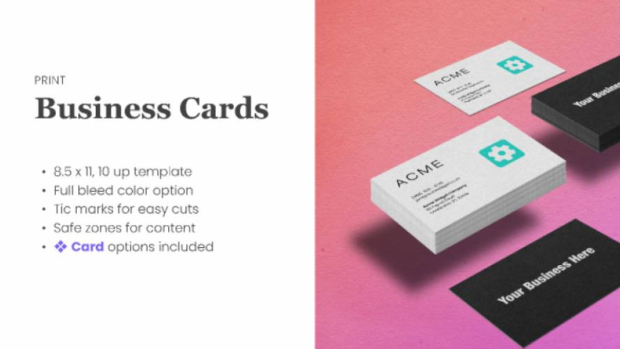 Figma Business Card Template