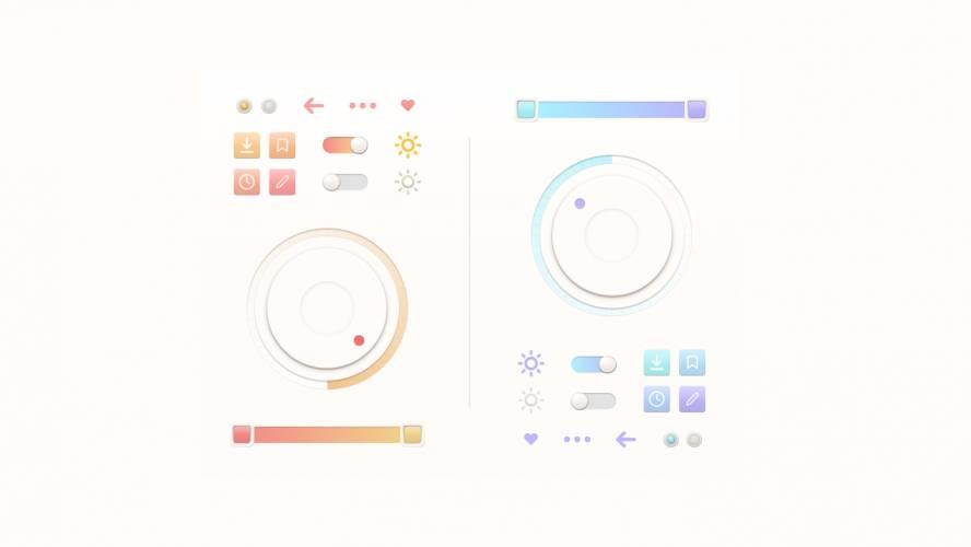 Figma Button Template