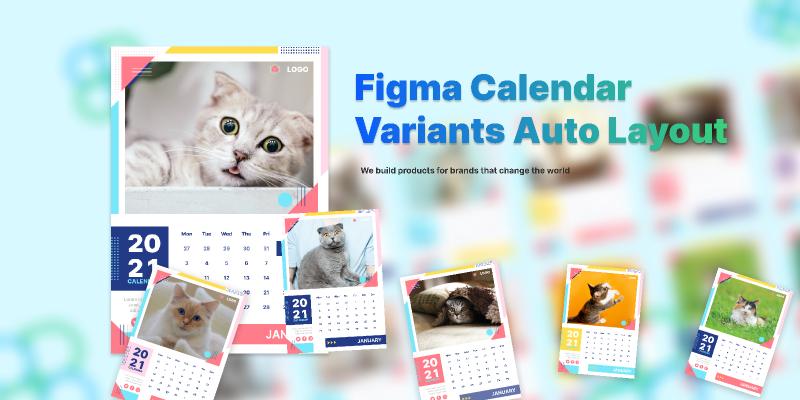 Figma Calendar  Variants Auto Layout