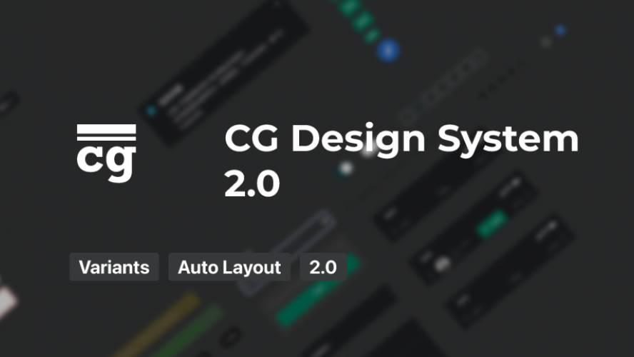 Figma CG Design System 2.0