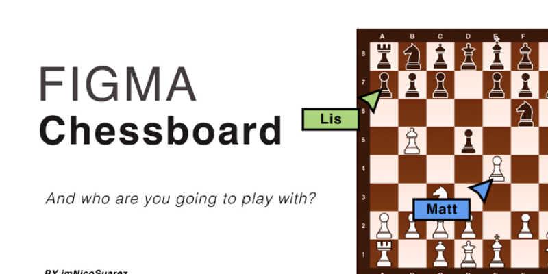Figma Chessboard Freebie