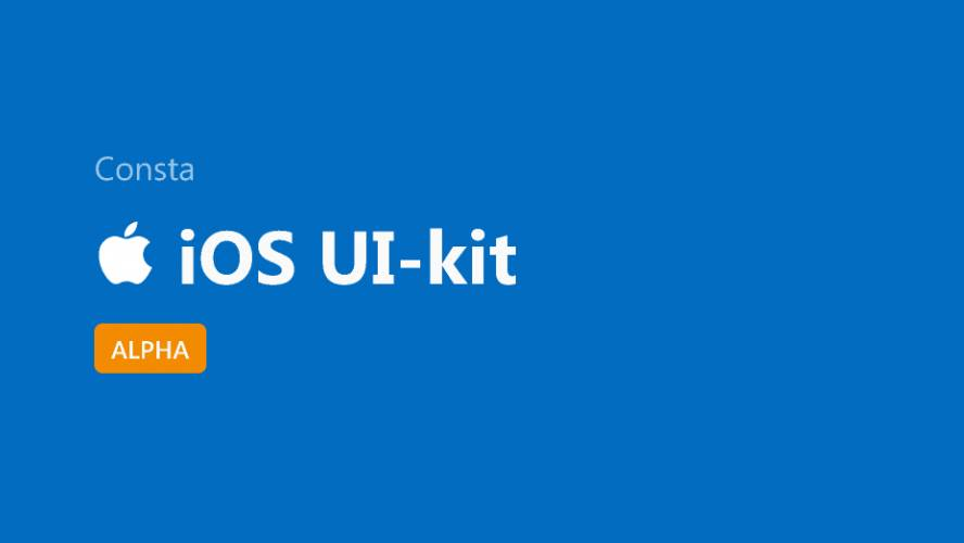 Figma Consta UI Kit for iOS