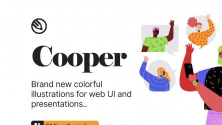 Figma Cooper illustrations - Free Download (90+ illustrations)