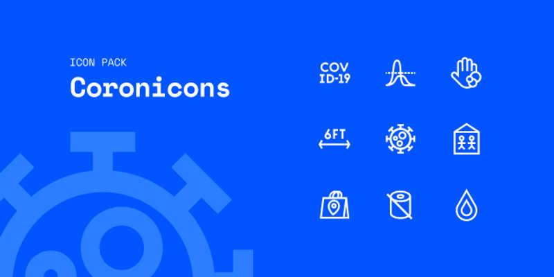 Figma Coronicons Covid-19 Icon Pack