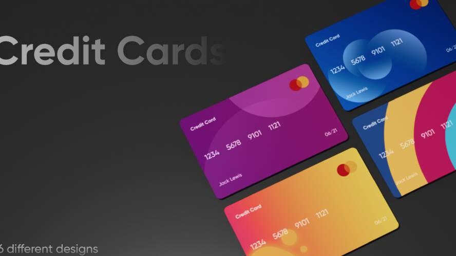 Figma Credit Card Template