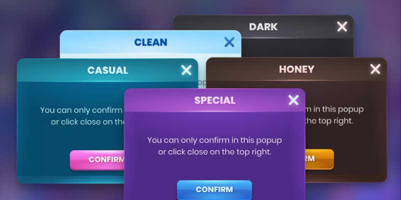 Figma Dealog Game UI Kit