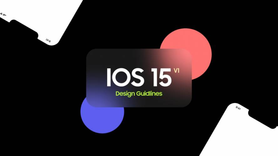 Figma Design Guideline IOS 15