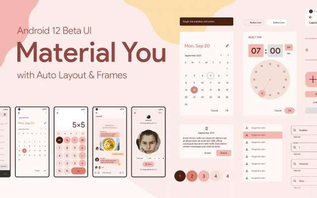 Figma design Material You