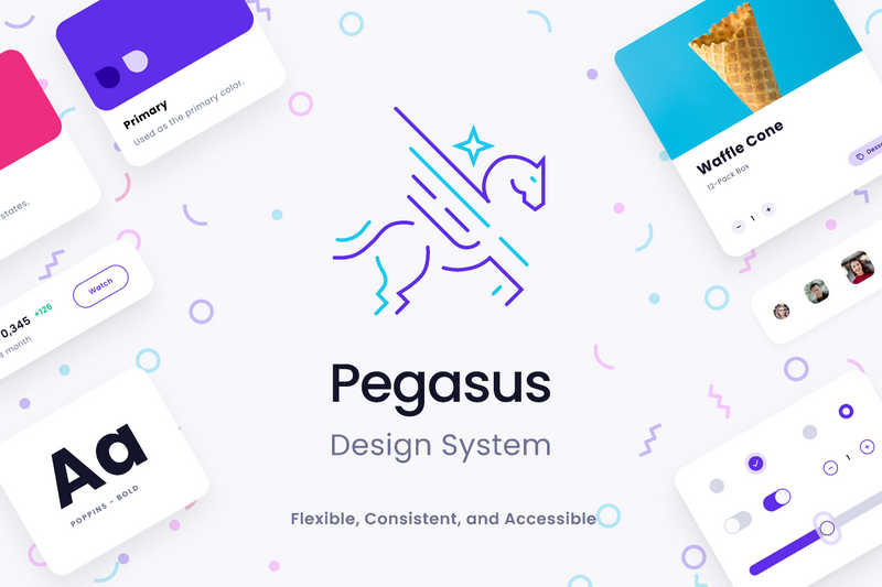 Figma Design System (Pegasus Design System)