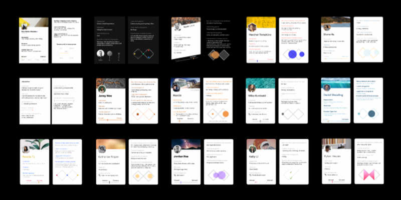 Figma Design Team Trading Cards