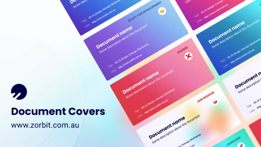 Figma Document Cover Free Download