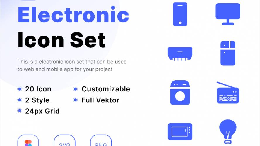 Figma Electronic Icon Free Download