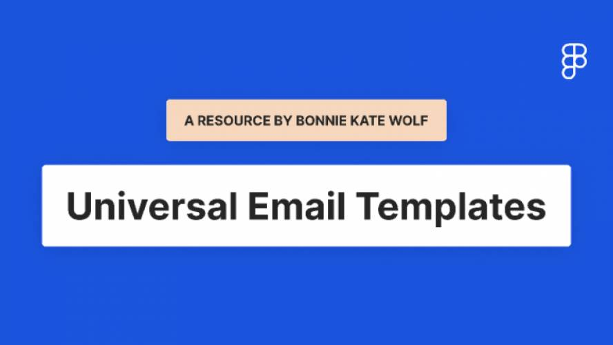 Figma Email Design System Templates
